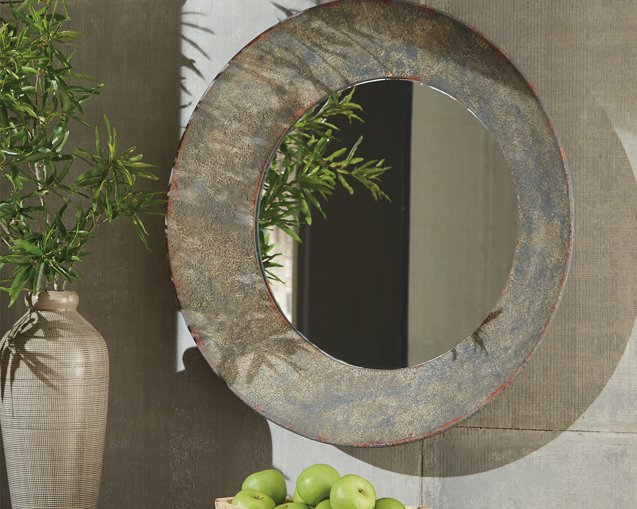 Carine Signature Design by Ashley Mirror