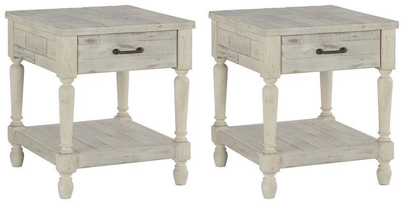 Shawnalore Signature Design 2-Piece End Table Set