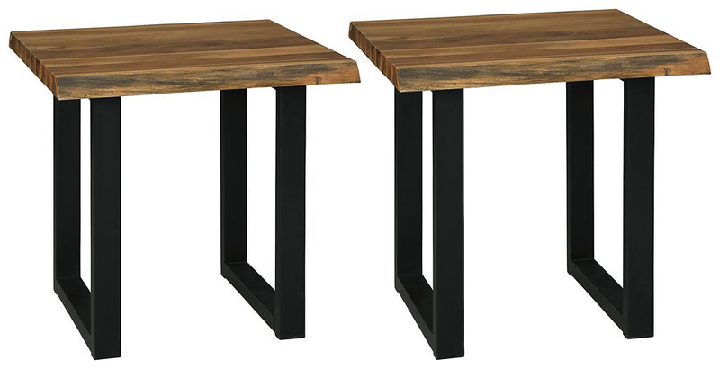 Brosward Signature Design 2-Piece End Table Set image