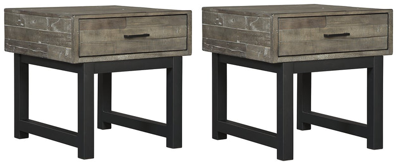 Mondoro Signature Design 2-Piece End Table Set