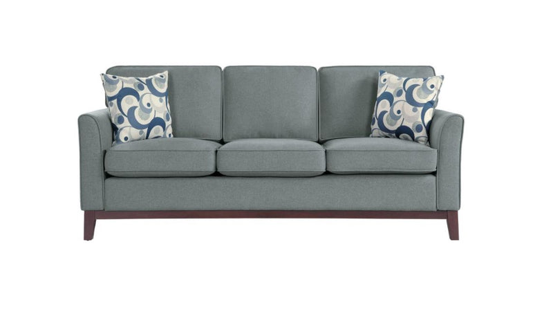 Homelegance Furniture Blue Lake Sofa in Gray 9806GRY-3 image