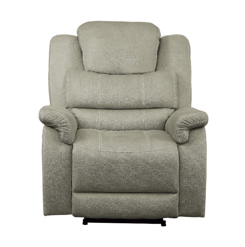 Homelegance Furniture Shola Glider Reclining Chair in Gray 9848GY-1 image
