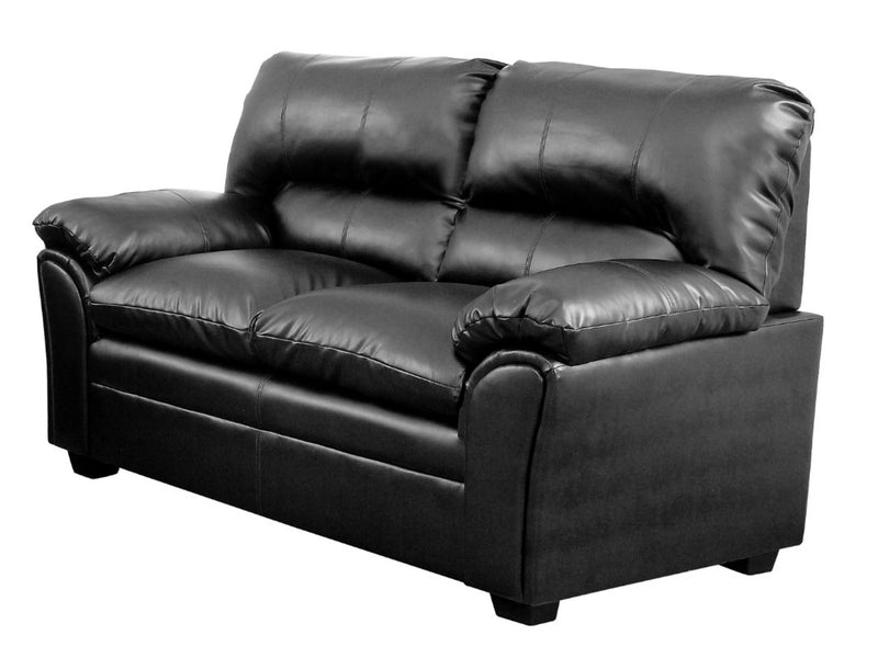 Homelegance Furniture Talon Loveseat in Black 8511BK-2 image