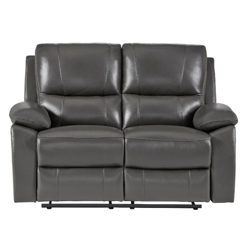 Homelegance Furniture Greeley Double Reclining Loveseat in Gray 8325GRY-2 image