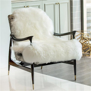 Australia natural pure sheepskin rug