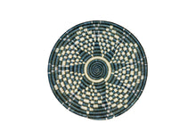 "Load image into Gallery viewer, Sisal Trivet - Small Metallic Mirage Gray 10"" - Earthnic Lifestyle"