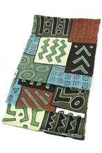 Load image into Gallery viewer, Malian Festival Cotton Throw Blanket - Earthnic Lifestyle