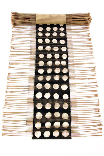 Polka Dot Twig Table Runner from Mali - Earthnic Lifestyle
