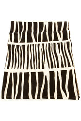 Zebresse Organic Cotton Mudcloth Throw - Earthnic Lifestyle