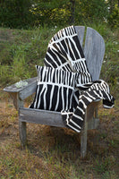 Load image into Gallery viewer, Zebresse Organic Cotton Mudcloth Throw - Earthnic Lifestyle