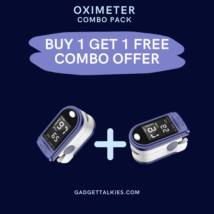 Oximeter Pack of 2