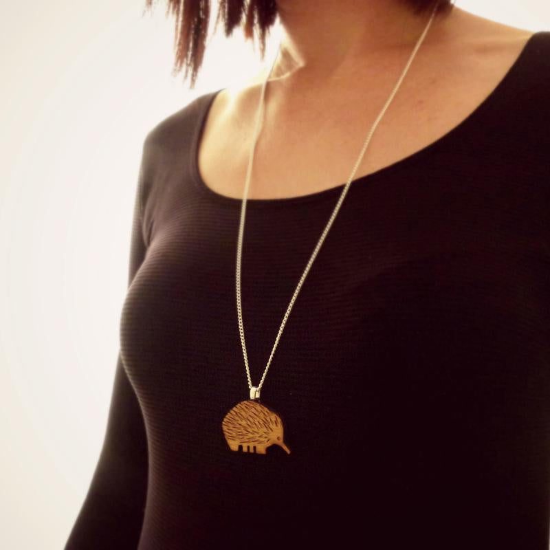 Echidna necklace - Dot and Frankie