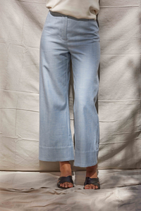 Straight Denim Pant - Dot and Frankie
