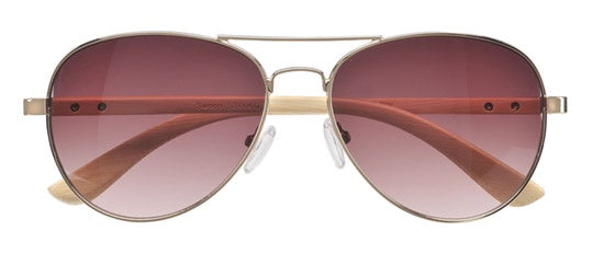 Swoop Gold Sunglasses - Dot and Frankie