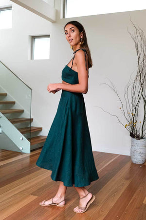 Bella Skirt - Emerald Green - Dot and Frankie