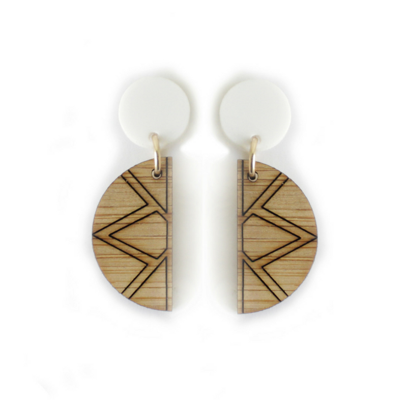 Empress drop earrings - Dot and Frankie