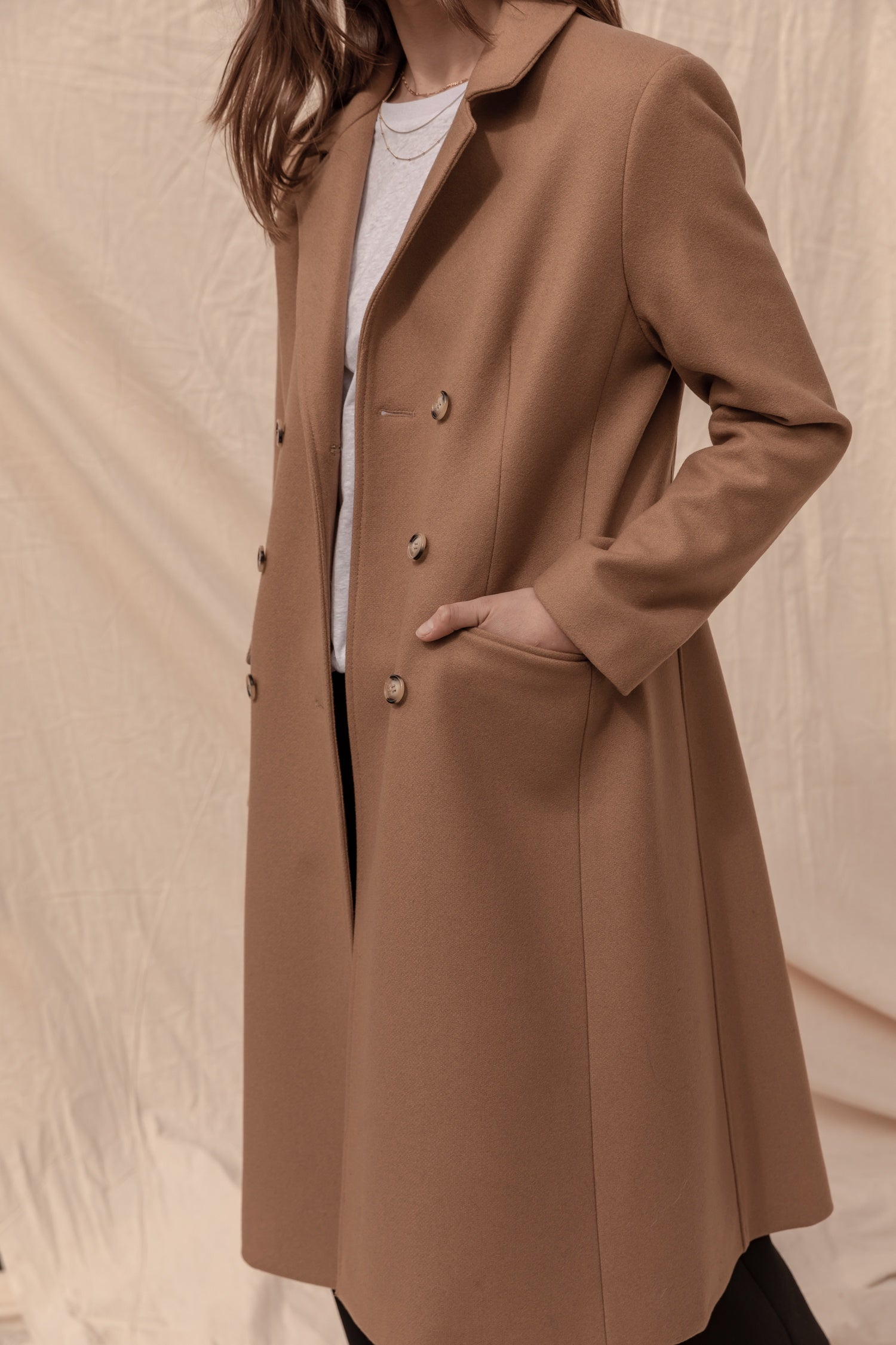 Belmont Tailored Coat - Dot and Frankie