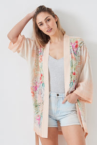 Summer Days Kimono - Dot and Frankie