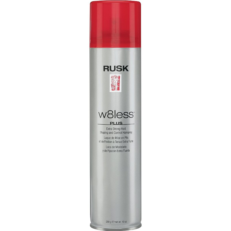 Rusk w8less Plus Extra Strong Hold Hairspray