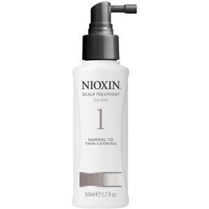 Nioxin Scalp and Hair Leave-In Treatment System 1 For Fine Hair With Light Thinning