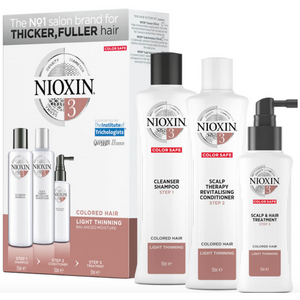 Nioxin System 3 Kit Coloured, Fine and Thinning Hair