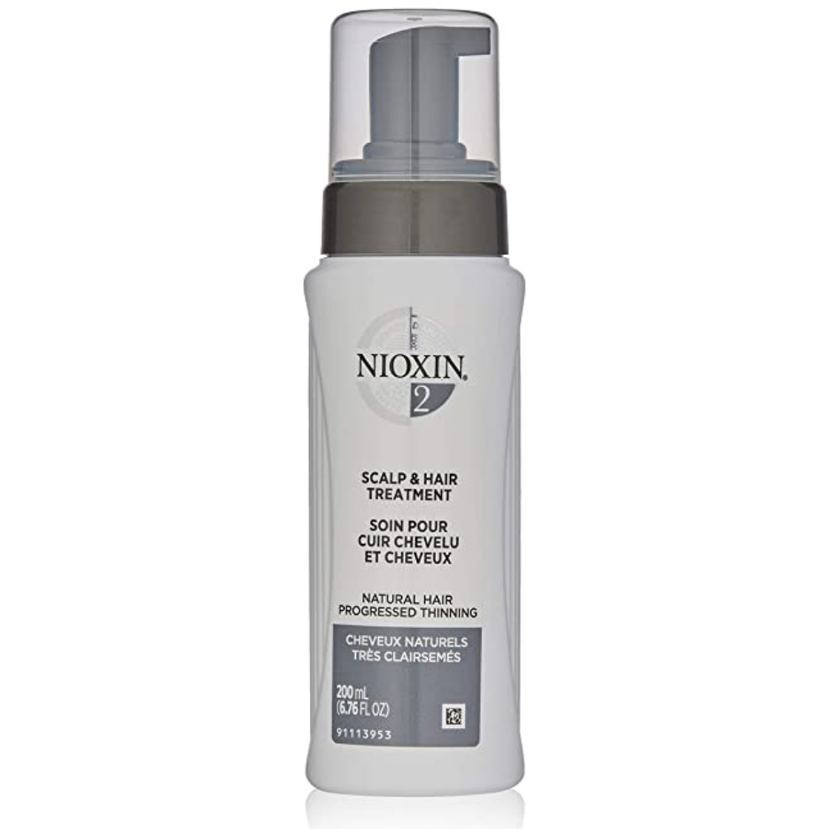 Nioxin System 2 Scalp Treatment for Natural, Progressed Thinning Hair