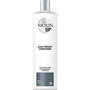 Nioxin System 2 Scalp Therapy for Natural, Progressed Thinning Hair