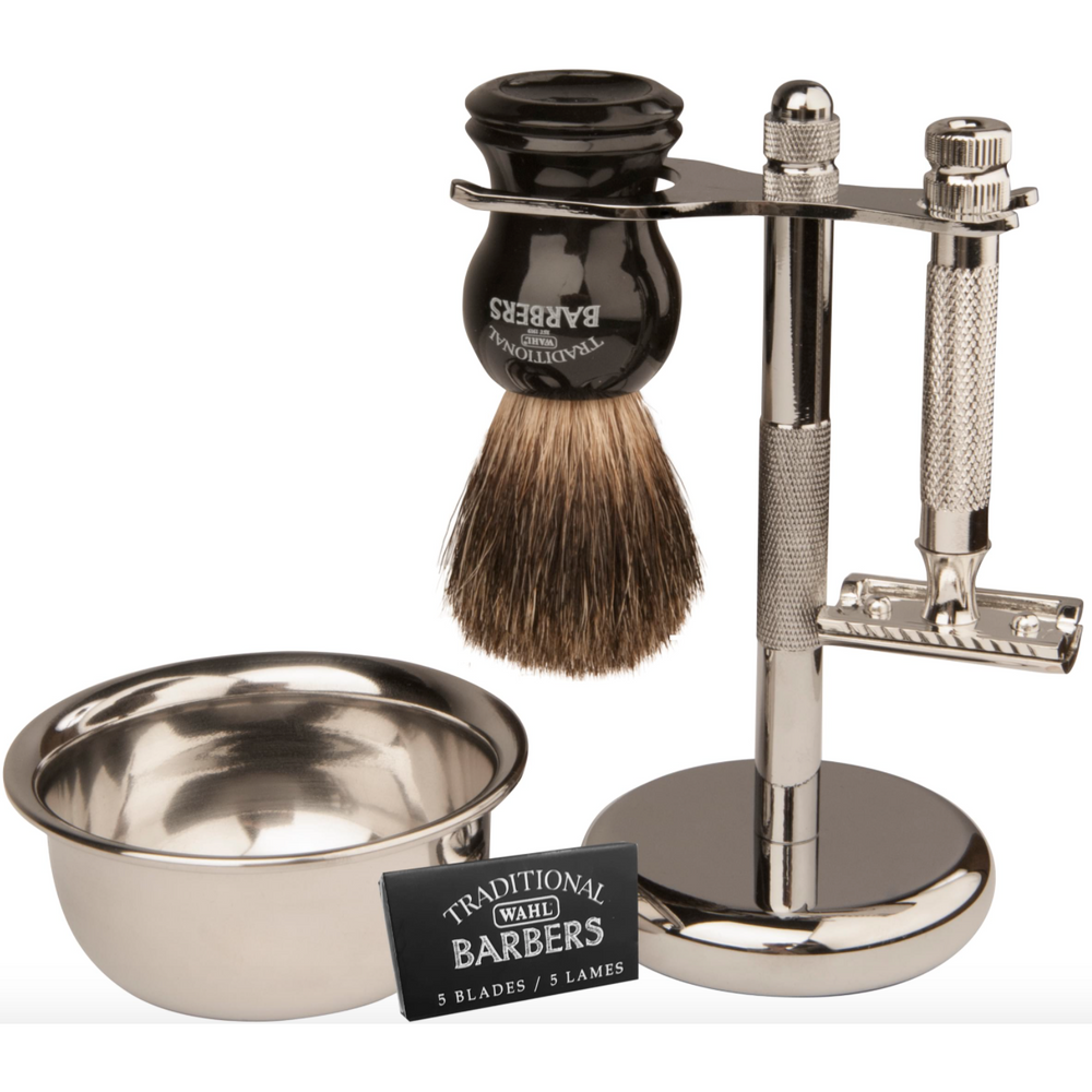 Load image into Gallery viewer, Wahl Barbers Classic Shave Kit