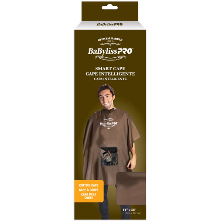 BaByliss Pro Barbers Smart Cutting Cape with Snaps
