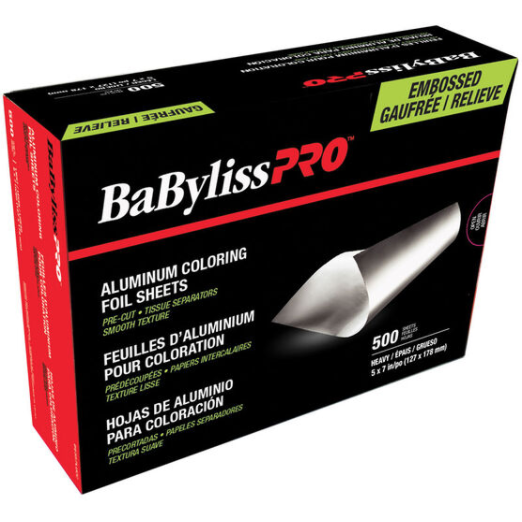 BaByliss Pro Pre-Cut Foils with Folded Edge - Embossed