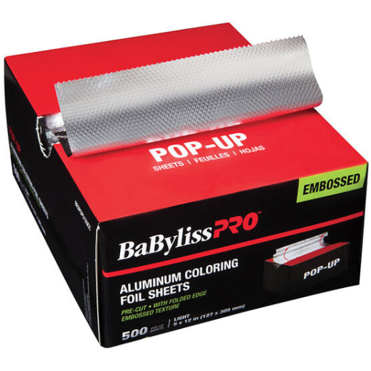 BaByliss Pro Pop-up Embossed Light Colouring Foils