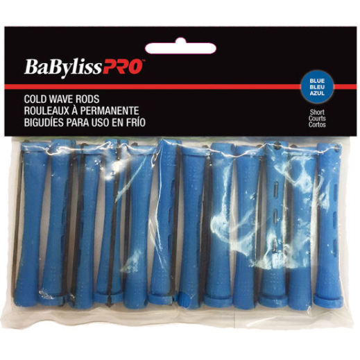 BaByliss Pro Cold Wave Rods - Short