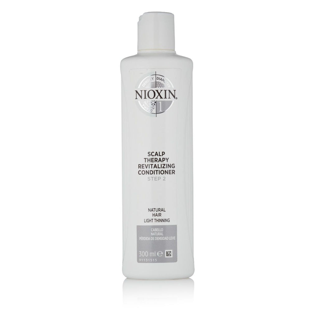 Nioxin Scalp Therapy Conditioner, System 1 (Fine/Normal to Light Thinning, Natural Hair)