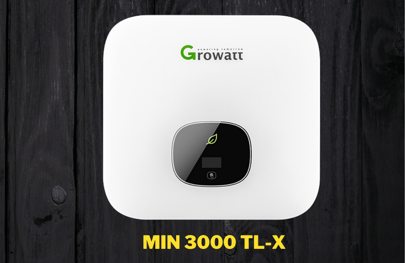 Growatt MIN 3600-TL-X, 5 Kilowatt, 1-Phase ON-GRID Inverter with Wi-Fi & LED Display - Apollo Universe