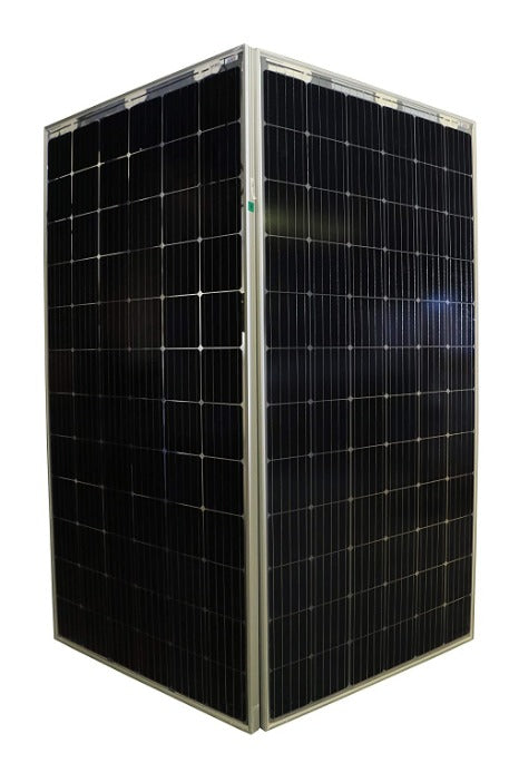 Adani Bifacial Solar Panel 365 Watts, 24 Volts, 1 kilowatt (Pack of 3) - Apollo Universe