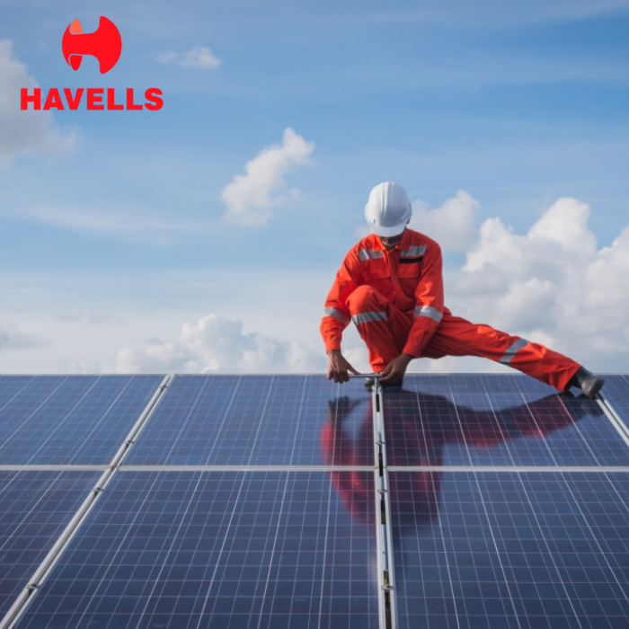 Havells 4 kilowatt offgrid solar rooftop system (Poly-crystalline) installation with 1 year AMC - Apollo Universe