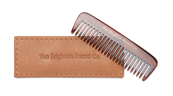 New in // Acetate beard comb