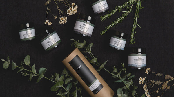 Introducing Rye // Our new skincare range