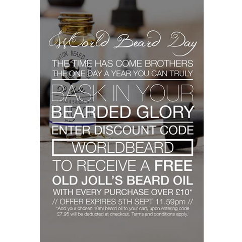 brighton beard company world beard day