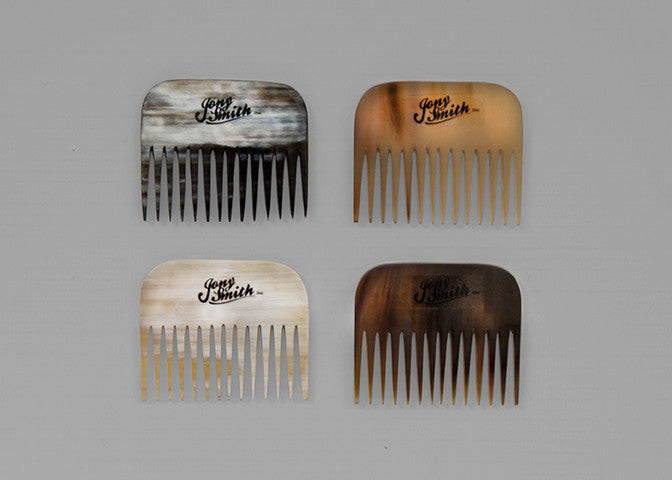 Jony Smith Ox Horn Beard Comb // Rake