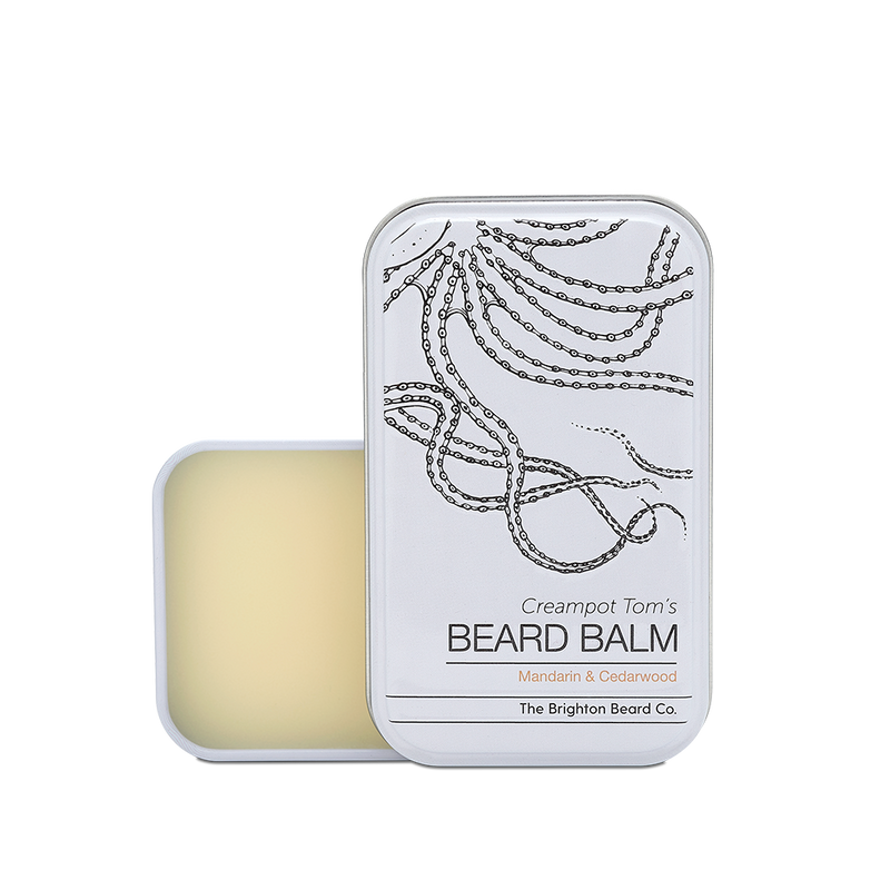 Beard balm, Mandarin and Cedarwood
