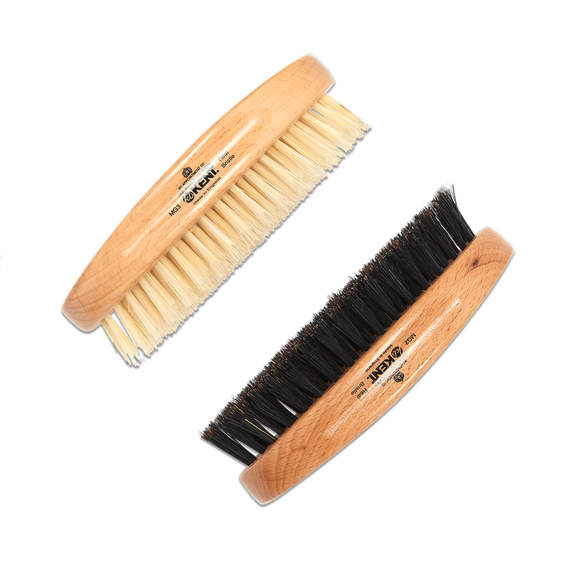 Kent boar bristle brush, beard brush