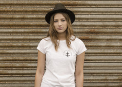 Brighton Beard Co Logo LADIES slub tee