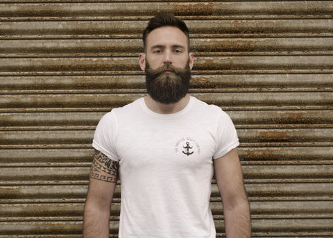 Brighton Beard Co Logo MENS slub tee