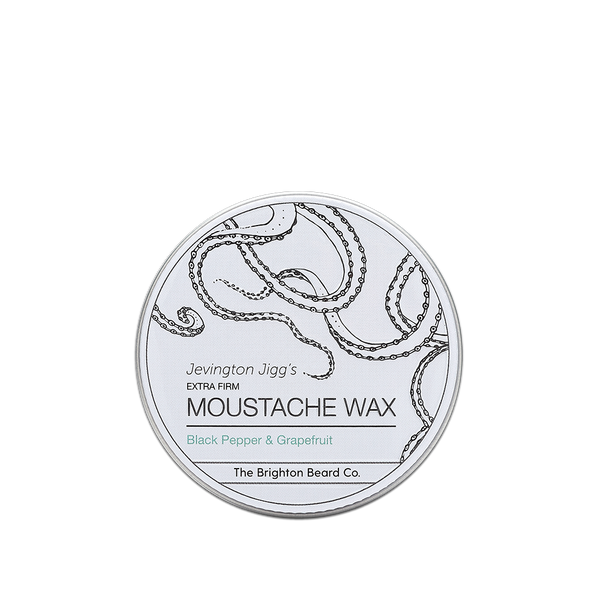 moustache wax, moustache wax stick, Black pepper and Grapefruit
