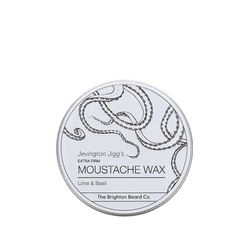 moustache wax, moustache wax stick, Lime and Basil