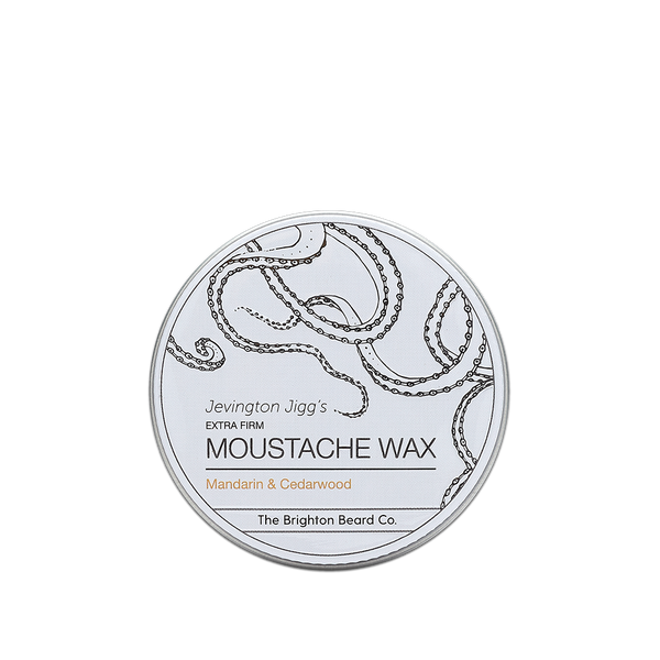 moustache wax, moustache wax stick, Mandarin and Cedarwood