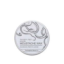 moustache wax, moustache wax stick, Sandalwood, Elemi and Lavener