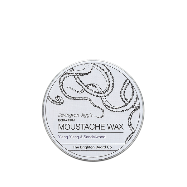 moustache wax, moustache wax stick, Ylang Ylang and Sandalwood