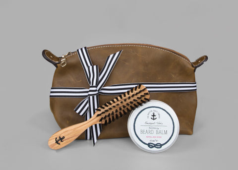 Taming Wash Bag Gift Set Beard Gifts